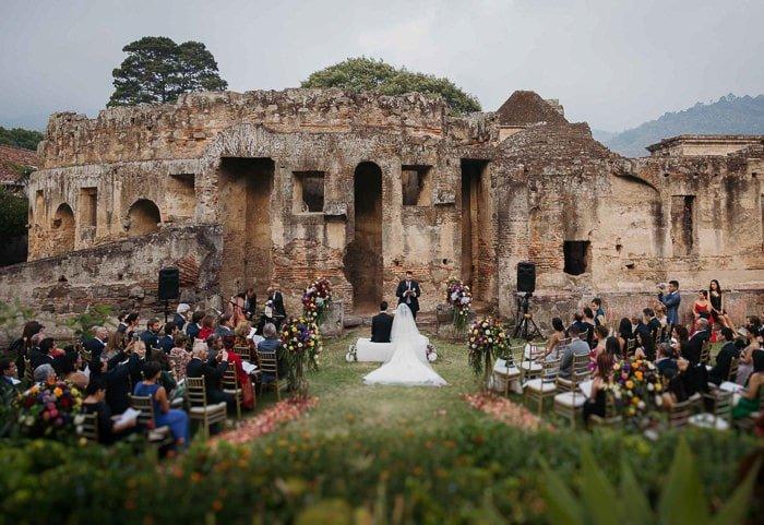 Foto de bodas en Antigua Guatemala