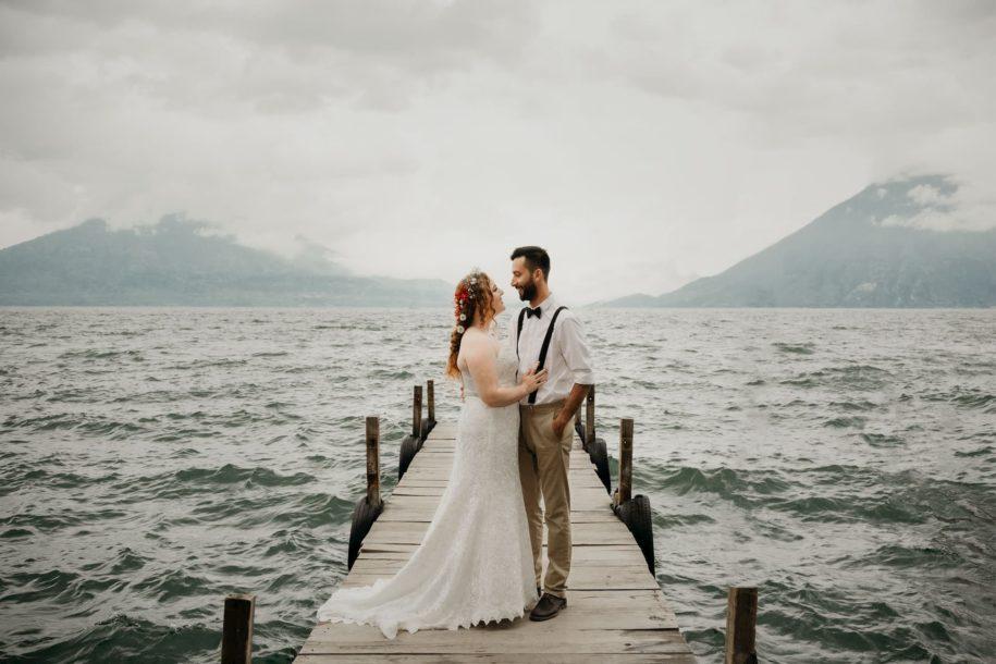 boda en lago Atitlan.