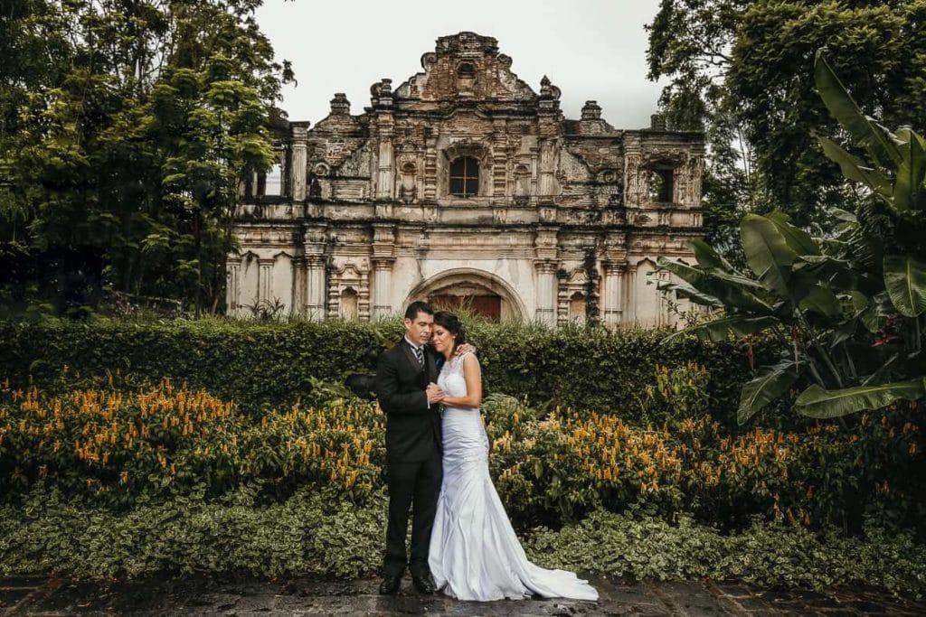 Increíbles fotos de boda en Antigua Guatemala.